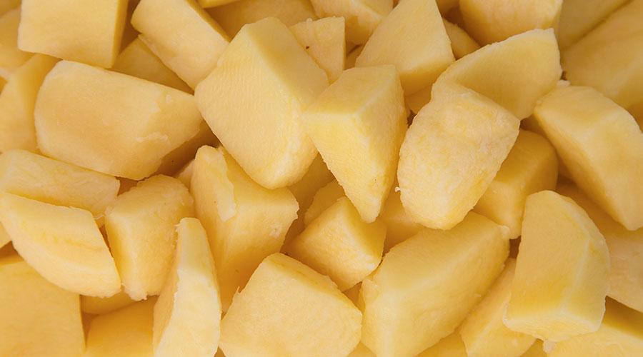 En Mister Chippy contamos con el mejor género en cuanto a patata ibicenca (dependiendo de la temporada) y a patata de proximidad.