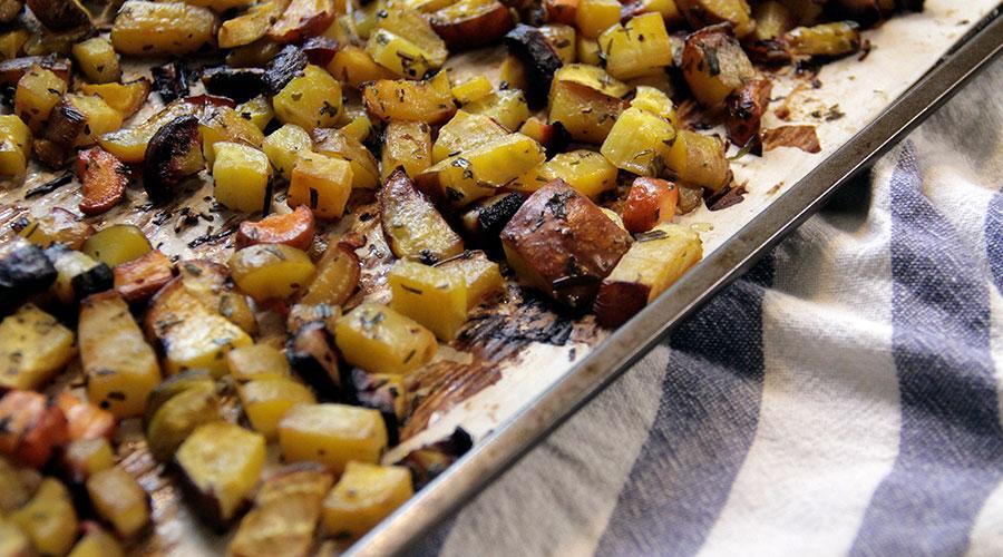 Receta patatas asadas perfectas