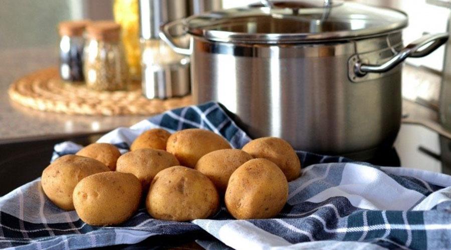 Cocción de las patatas