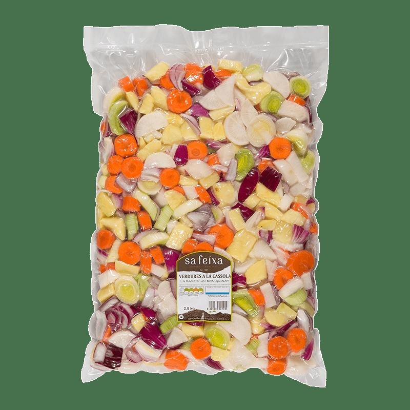 Verdures a la cassola