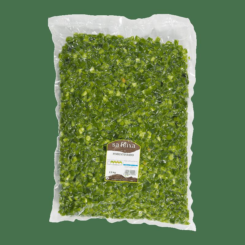 Pebrot verd daus